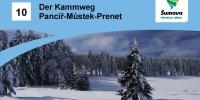 Der Kammweg Pancíř – Můstek – Prenet