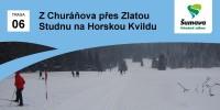 Výlet z Churáňova přes Zlatou Studnu na Horskou Kvildu