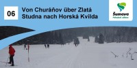 Von  Churáňov über Zlatá Studna (Golden Brunnen ) nach Horská Kvilda